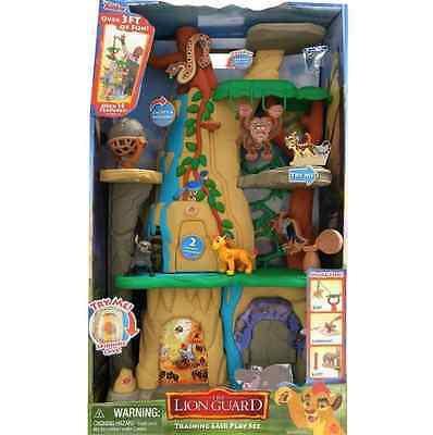 * Disney The Lion Guard Training Lair Playset Toy Pride Lion King Set Gift *