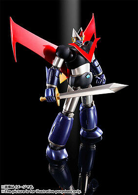 Bandai Super Robot Chogokin Great Mazinger Kurogane Finish IN STOCK USA