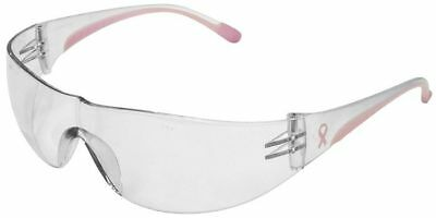 Bouton/PIP Eva Women's Safety Glasses | Pink Temple | Clear Lens