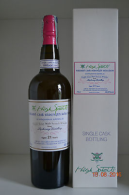 Single Islay Malt Scotch Whisky LAPHROAIG 21 years old Vintage 1990 75cl withbox