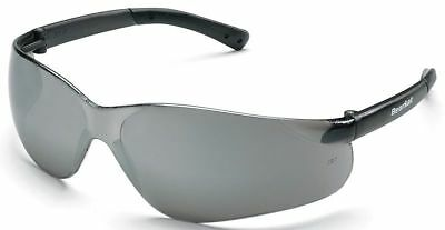 Crews Bearkat Safety Glasses with Silver Mirror Lenses