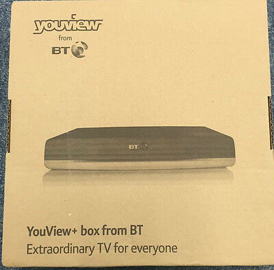 Humax Dtr-T2100 G4 500Gb Youview Twin Tuner Smart Hdtv Recorder+Remote And Leads