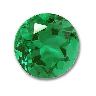 Lab Grown Emerald Round 2mm Lot of 50 Stones Ebays Best Deal