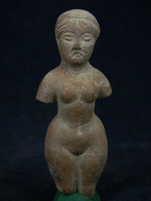 Ancient Teracotta Naked Lady Figure Roman C.200 BC   #TR1077