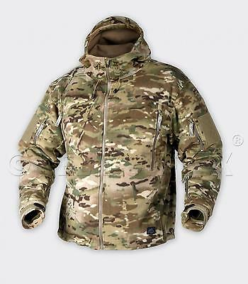 HELIKON TEX PATRIOT HEAVY FLEECE Outdoor Kapuzen Tarnjacke JACKE Jacket camogrom