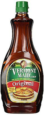 Vermont Maid Syrup, 24-Ounce Pack of 3