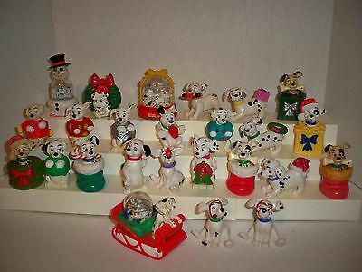 Lot of 25~101 Dalmatians PVC Christmas Figures/Cake Toppers