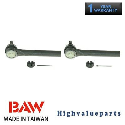 Pair BAW ES800046 Tie Rod End Front Outer Left and Right for 05-07 Nissan Murano