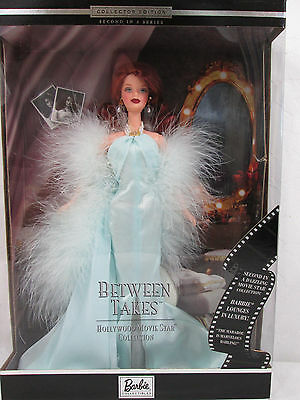 Between Takes Barbie Doll Hollywood Movie Star Collection 2000 27684 Red Head