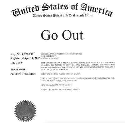 Trademark - Go Out