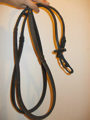 """56"""" equiport rolled rubber reins"""