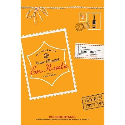 Veuve Clicquot poster 18 by 27. new