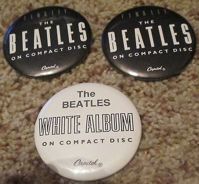 3-The Beatles Pins Gently Used
