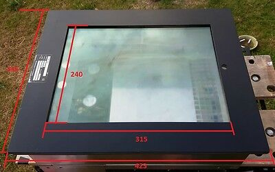High Quality Stainless Steel Fan Cooled CCTV Monitor Enclosure (A Complete Unit)
