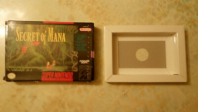 Secret of Mana SNES BOX & TRAY ONLY! NO GAME