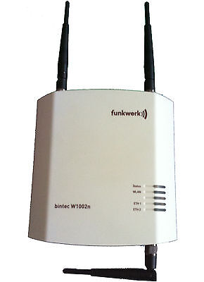 Bintec Funkwerk Router Access Point W1002n Wlan #190