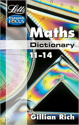 Maths Dictionary Age 11-14 [Paperback] by UNKNOWN ( Author ), New, UNKNOWN Book