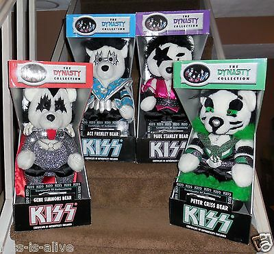 Kiss Dynasty Bears