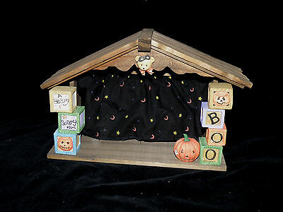 Enesco Cherished Teddies 'beary Scary' Halloween House 152382