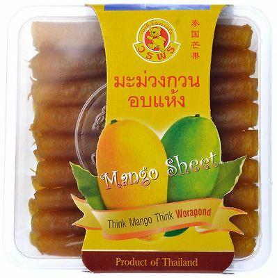 120g THAI MANGO Sheet Chewing Dried Mango Delicious Snack THAI Product