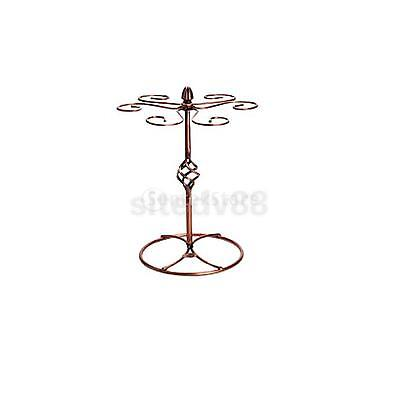 Retro Metal Wine Champagne Bottle Storage Holder Rack Stand Bracket Copper#2