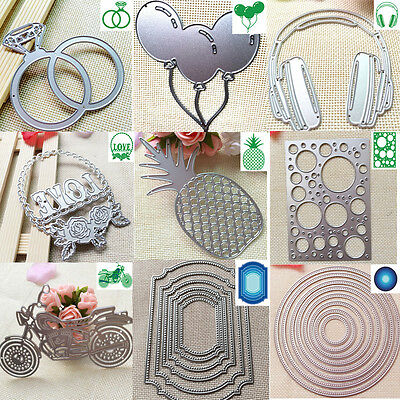 HOT Metal Cutting Dies Stencil For DIY Scrapbooking Embossing Paper Card Decor #