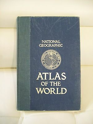 National Geographic Atlas of the World used Hardcover 1981