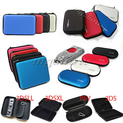 EVA Hard Case Protective Zip Carry Cover Bag Pouch For Nintendo PSV 2DS 3DSLL/XL