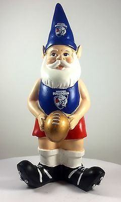 Western Bulldogs AFL Limited Edition 10 Year Anniversary Garden Gnome 2016