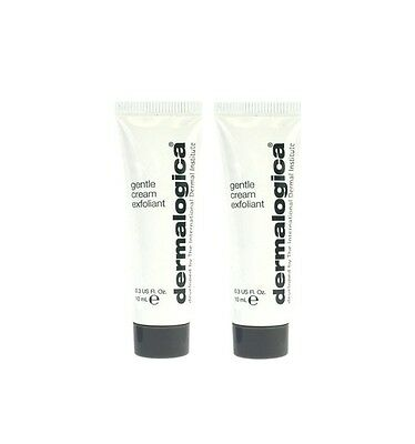 Dermalogica Gentle Cream Exfoliant 20ml Travel Size x 2 10ml Tubes