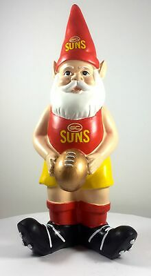 Gold Coast Suns AFL Limited Edition 10 Year Anniversary Garden Gnome 2016