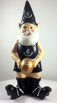 Carlton Blues AFL Limited Edition 10 Year Anniversary Garden Gnome 2016