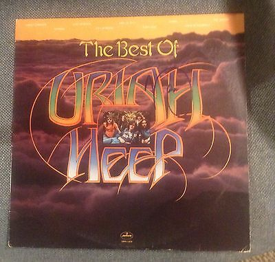 The Best Of Uriah Heep Autographed Album/ Mick Box