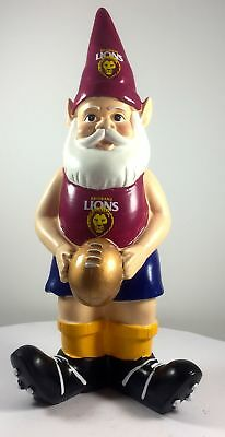 Brisbane Lions AFL Limited Edition 10 Year Anniversary Garden Gnome 2016
