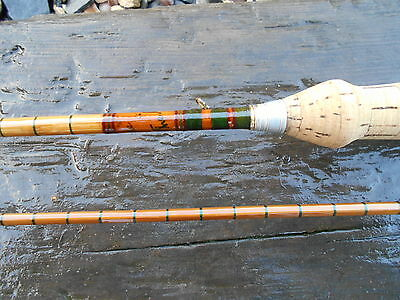 "Fosters Ashbourne The Airsprite Built Cane Fly Rod 7Ft 6"" 2Pce 4/5 Line"