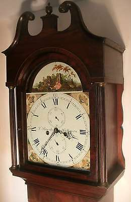 "Mahogany "" Nutbourn "" Automation See/saw  Longcase / Grandfather Clock"