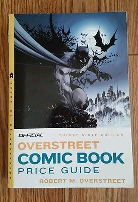 """Overstreet"" Comic Book Price Guide"