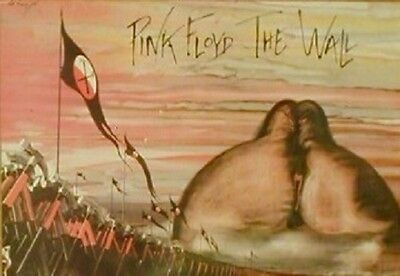 Carte Postale - Pink Floyd - The Wall