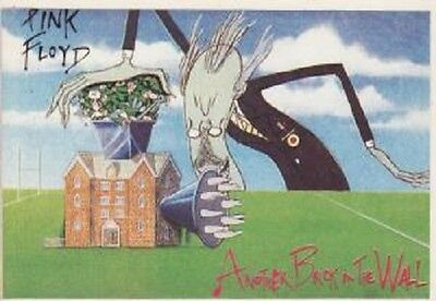 Carte Postale - Pink Floyd - Another Brick in The Wall