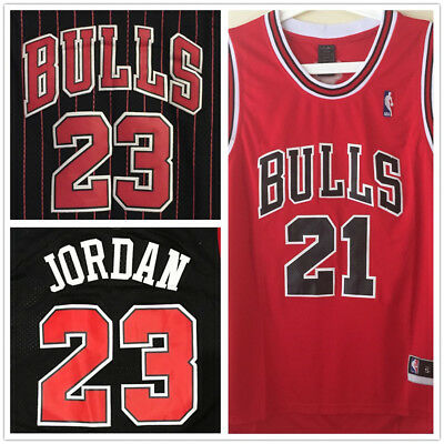 Chicago Bulls #21 Jimmy Butler NBA BASKETBALL JERSEY AU STOCK