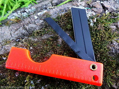Ust Sabercut Razor Saw Lightweight & Compact Saw Edc Bushcraft Survival Sere