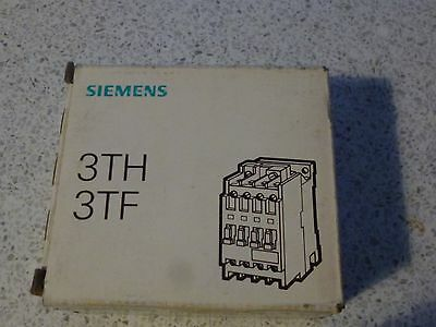 siemens contactor 3tf30 10-0ab0-z   4kw 24v ac coil