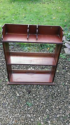 Vintage  Mahogany  Shelf / Bookcase Unit