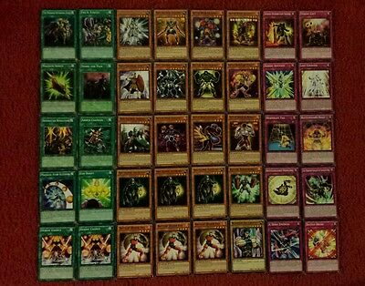 Yu-Gi-Oh Battlin' Boxer and Heroic Deck - 40 cards complete BONUS 5 cards