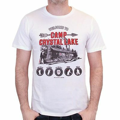 Friday the 13th Camp Crystal Lake T Shirt - Medium