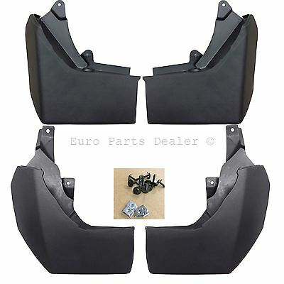 Front and Rear Mud flaps Full Set For Discovery 4 2009-2014 Brand New Oem Style