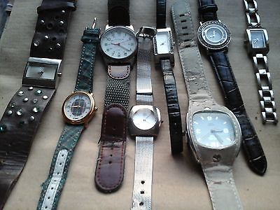 WristwatchesJob  Lot For Women  OASIS CITRON  LIMIT DIESEL  QUARTZ