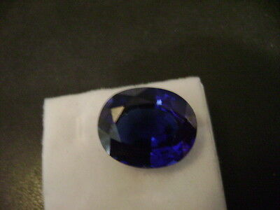 Lab Grown Blue Sapphire Oval 8mm x 6mm Lot of 10 Stones Ebays Best Deal