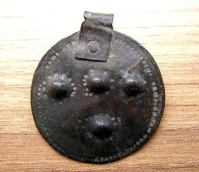 Ancient Viking Bronze Pendant