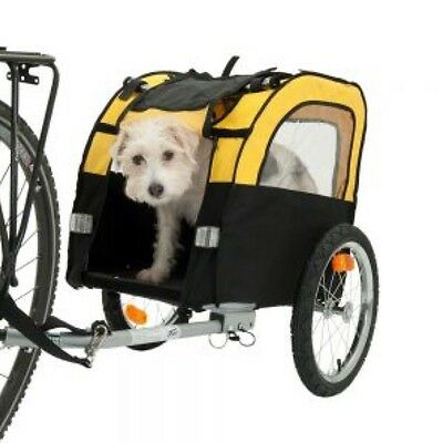 Small Dog Bike Trailer FREE 2nd Bike Hitch Puppy Pet Cycle Transport & Lead